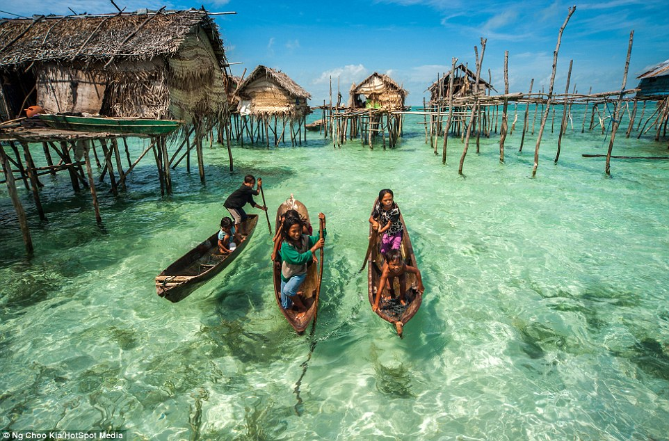 Have you heard about bajau people ? They are forbidden from setting foot on land