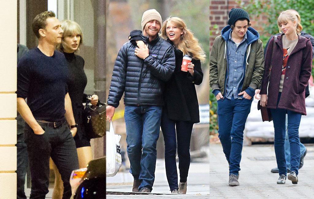 Taylor Swift : List Of Her Ex Boyfriends