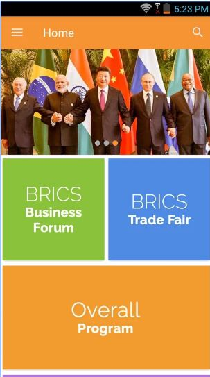 Instappy announces the launch of a dedicated app for BRICS Business Forum and BRICS Trade Fair 2016