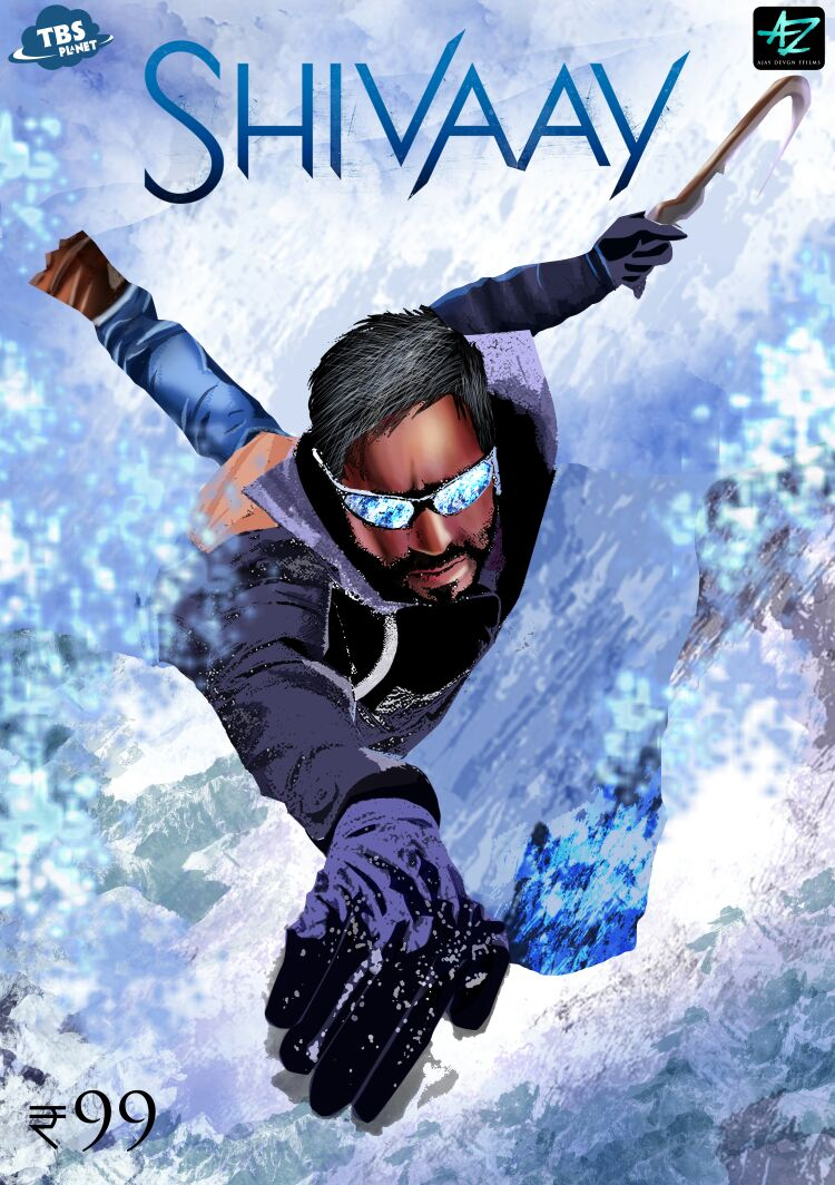 Read more about the article Shivaay coming up with comic book series in partnership with TBS Planet