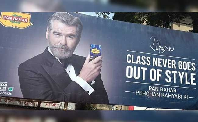 James Bond is selling 'pan masala' in India