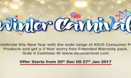 ASUS celebrates Christmas and New Year with 'Winter Carnival offer' on all consumer PC products in India
