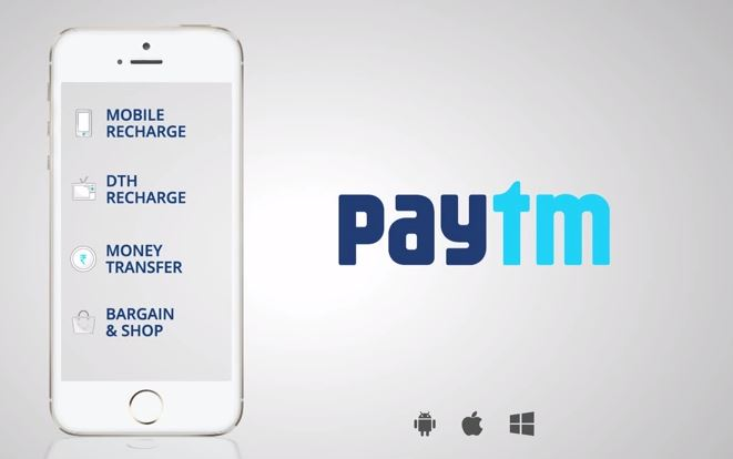Money transfers through Paytm ensures 100% security for users' identity