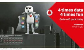 Ab 4X Internet kar Befikar on Vodafone supernet 4G