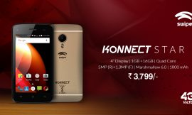 ShopClues launches one of the most affordable phones with Dual SIM 4G VoLTE and 16GB ROM, Swipe Konnect Star exclusively!