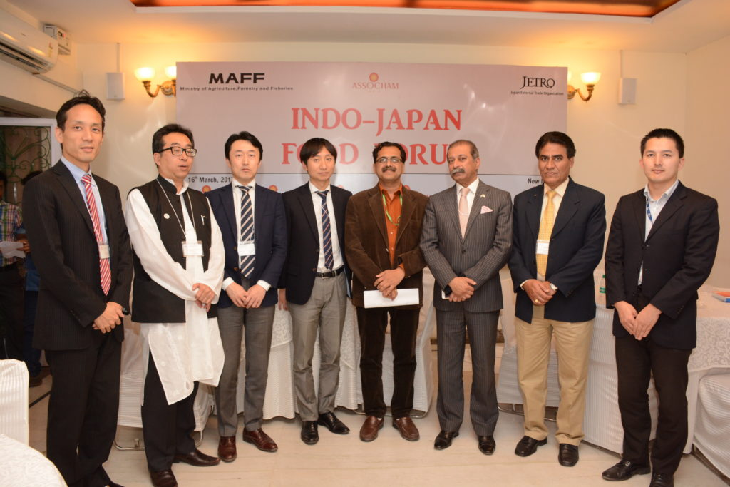 MAFF, JETRO and ASSOCHAM host India's first Indo-Japan Food Forum