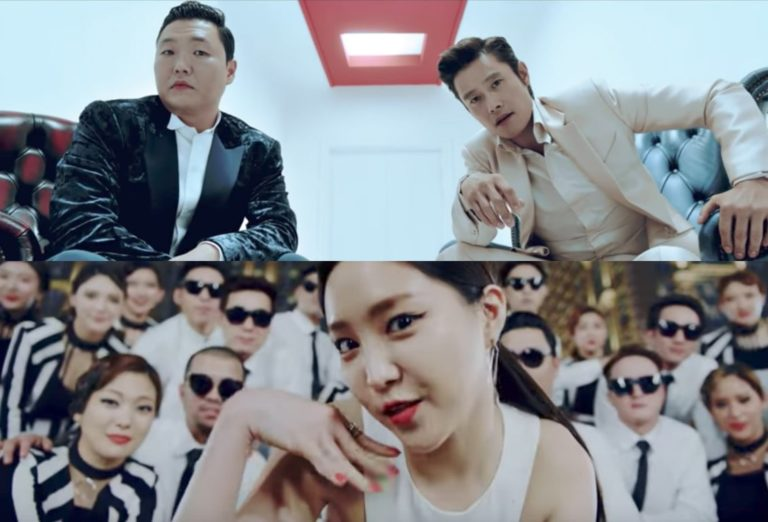 """Read more about the article """"Gangnam Style """" Psy returns with 'New Face' and 'I Luv It' MVs"""