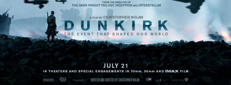 Read more about the article Movie Review : Dunkirk is Solid Summer BlockBuster