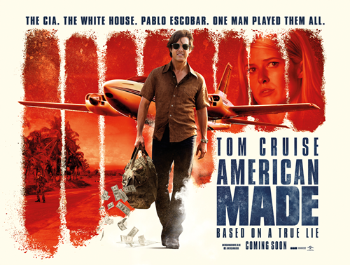 Movie review American Made : An entertaining and fun well-made film boosted by great direction and acting.