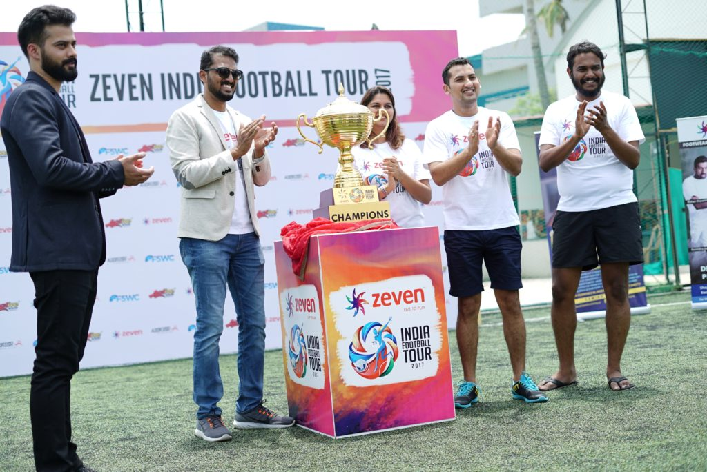 Zeven- India Football Tour 2017 kicks off in Bangalore