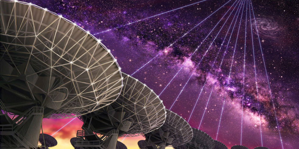 Scientists Spot 15 Mysterious Radio Bursts From a Distant Galaxy