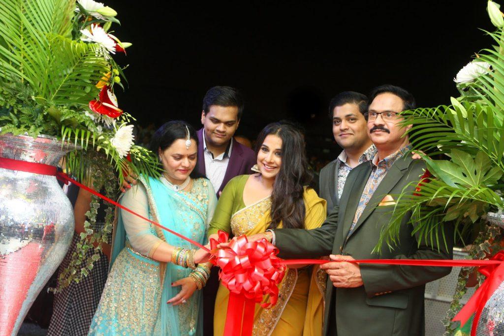 Actresses Vidya Balan and Dia Mirza inaugurate Al Adil stores in Dubai