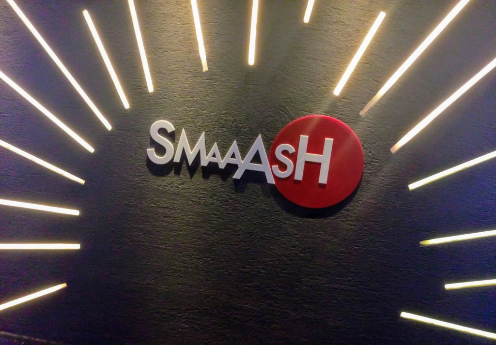 Review of SMAAASH Vasant kunj-Perfect gaming zone with good food and great ambience