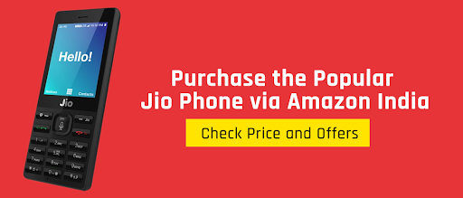 Purchase the popular Jio Phone via Amazon India; Check Price and Offers