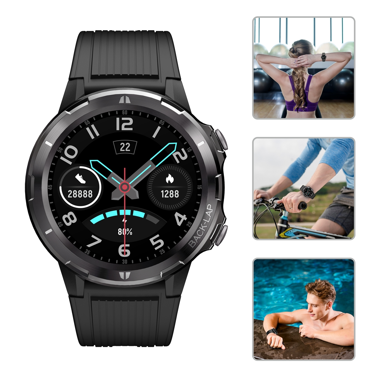 """You are currently viewing Portronics launches """"Kronos Alpha"""" Smartwatch – a perfect workout buddy"""